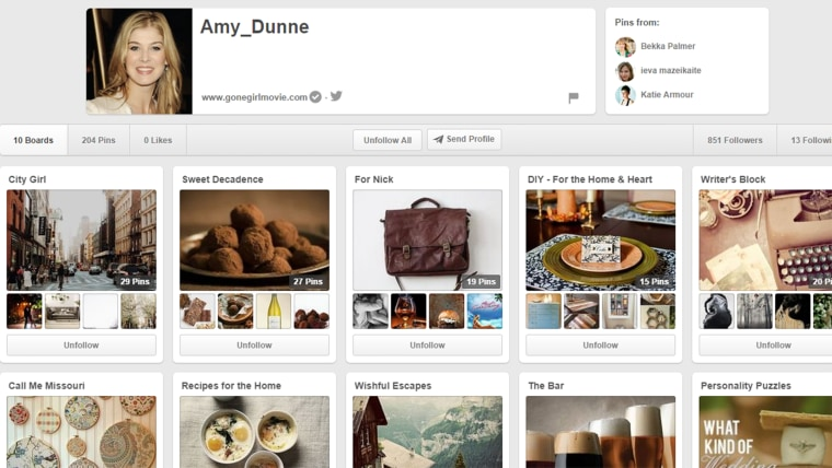 Image: Amy Dunne Pinterest page