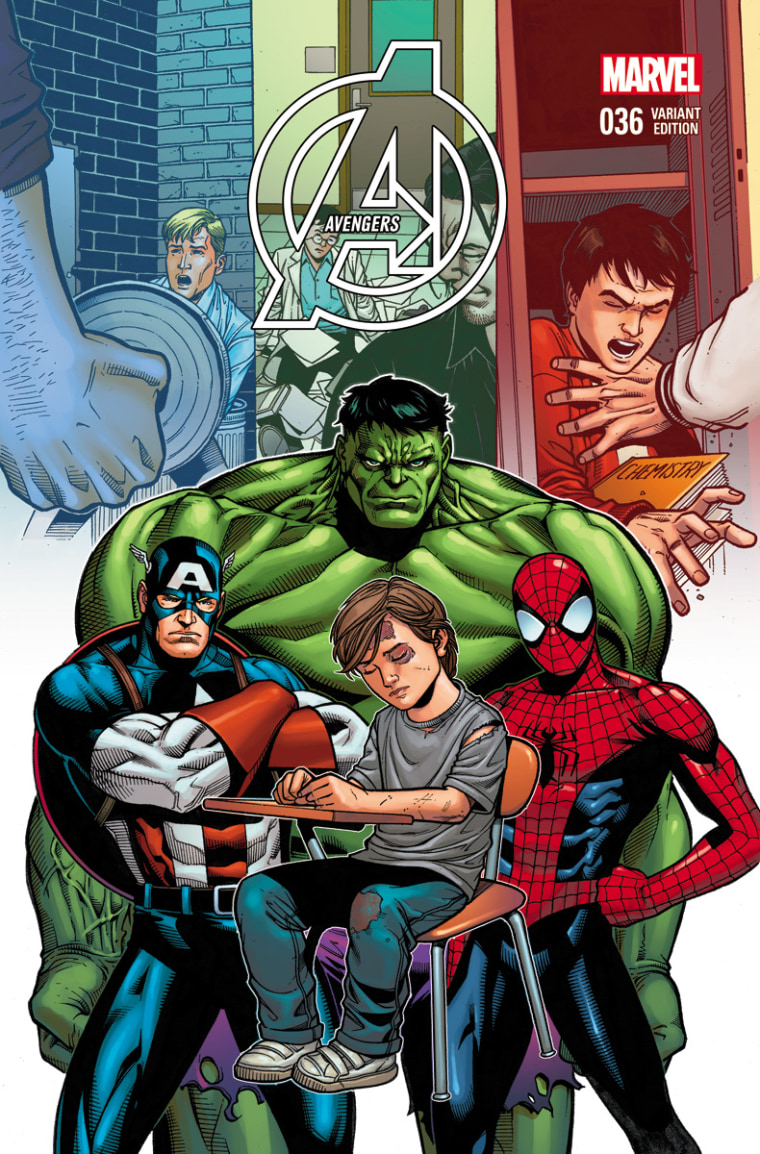 Captain America, the Hulk and Spider-Man take a stand against bullying.