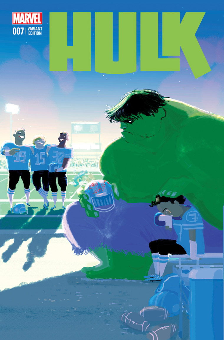 Hulk battles bullying