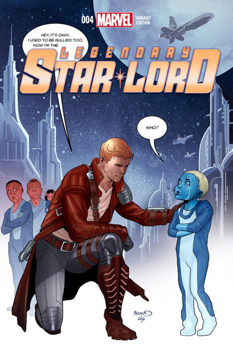 Star-Lord battles bullying.