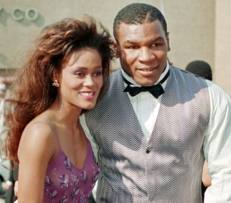 Givens and boxer Mike Tyson were married in 1988 and divorced in 1989 after a volatile marriage.