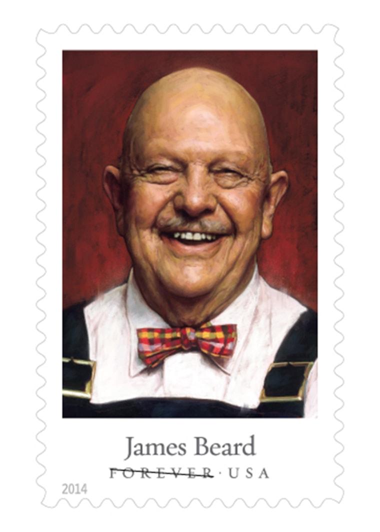 James Beard stamp