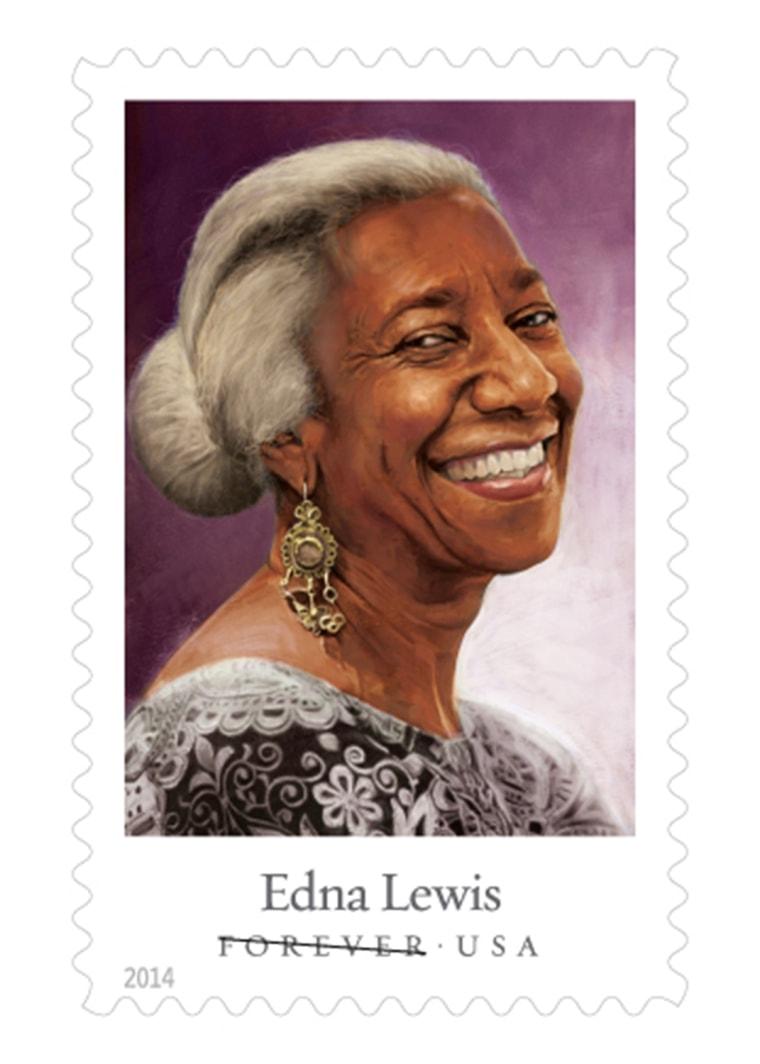 Edna Lewis stamp
