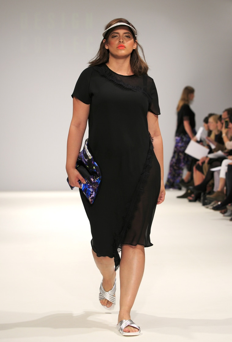 It S A Good Time To Be In The Plus Size Market: First Plus-size Show Hits London Fashion Week