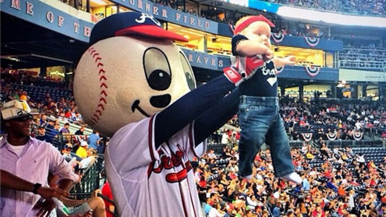 """The Atlanta Braves' new """"Simba Cam"""" is a cuter, more child-friendly version of the traditional kiss cam."""