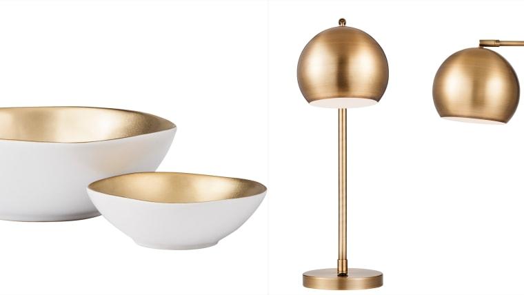 Bowl, lamps