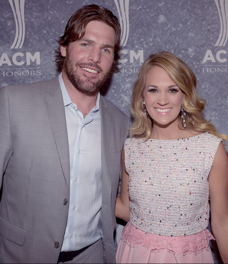 Image: Mike Fisher and Carrie Underwood