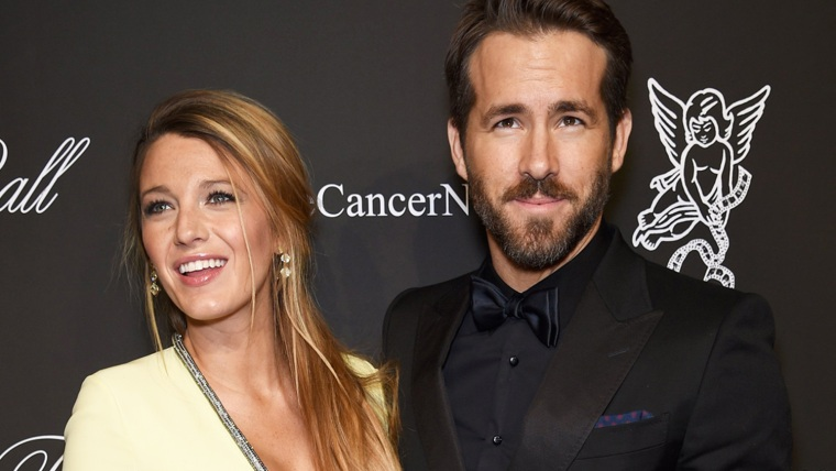 Blake Lively and Ryan Reynolds welcome their first child.