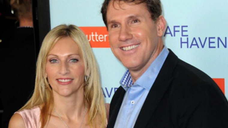 Nicholas Sparks and his wife Cathy in 2013.
