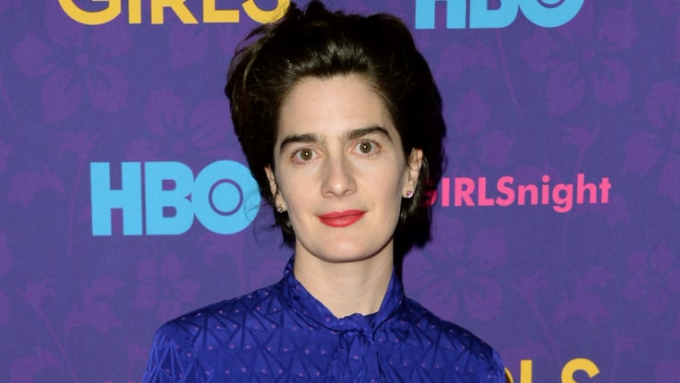 """NEW YORK, NY - JANUARY 06:  Actress Gaby Hoffmann attends the """"Girls"""" season three premiere at Jazz at Lincoln Center on January 6, 2014 in New York C..."""