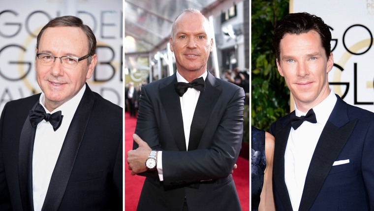 Image: Kevin Spacey, Michael Keaton and Benedict Cumberbatch