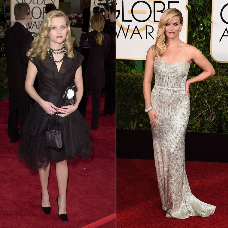 Now and then: See how the stars have changed since Golden Globes past
