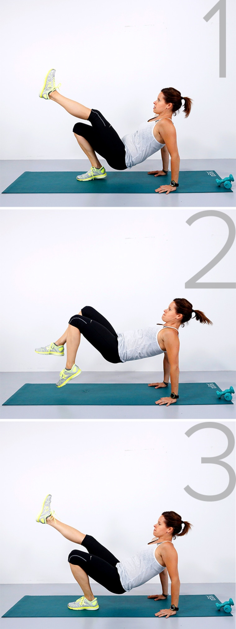 3 workouts for beginners: Get in shape anywhere with this fitness plan