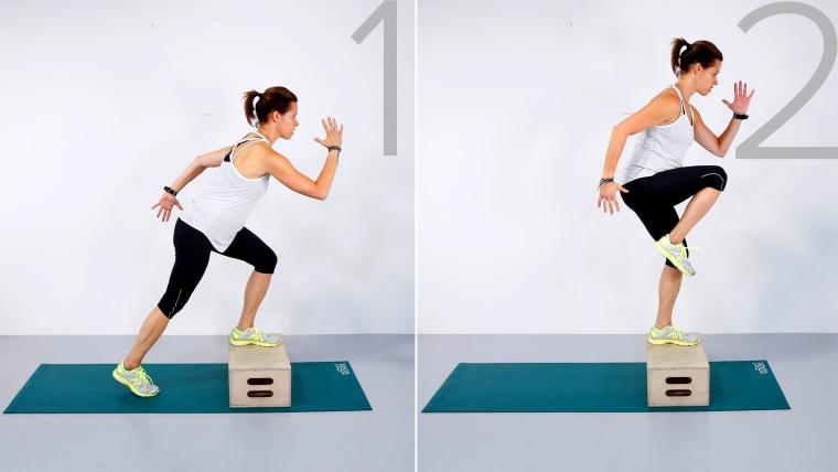 IMAGE: Jenna Wolfe exercises