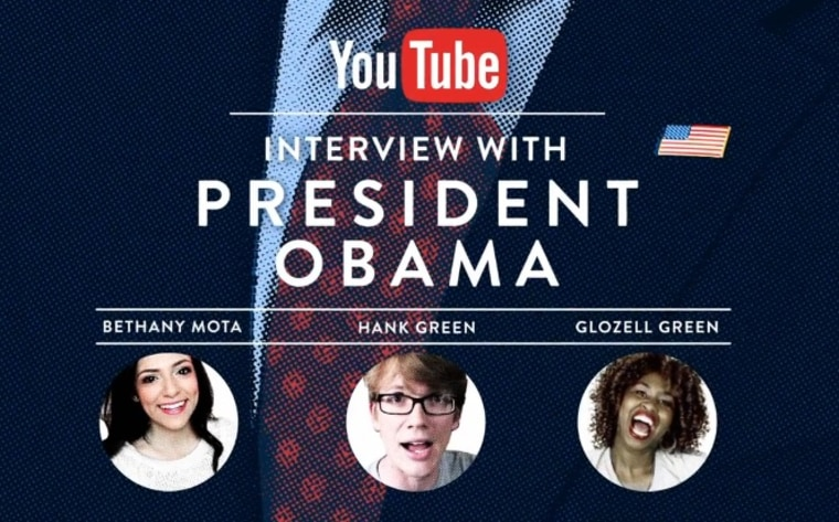 president interview youtube