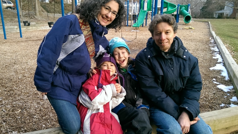 The Meitiv family, who live outside of the nation's capital in Silver Spring, Md., say they are being investigated because they let their children walk alone.