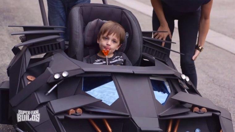 Batmobile stroller