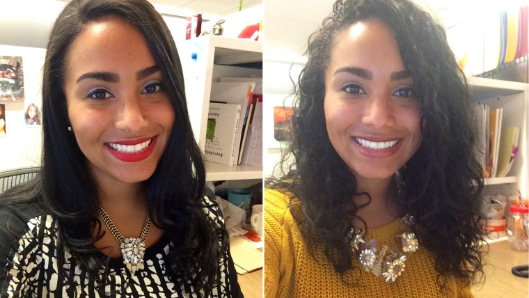 #CurlPower: Women Switch From Curly To Straight Hairstyles