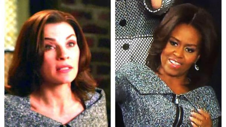 """Image: Michelle Obama and """"The Good Wife"""""""