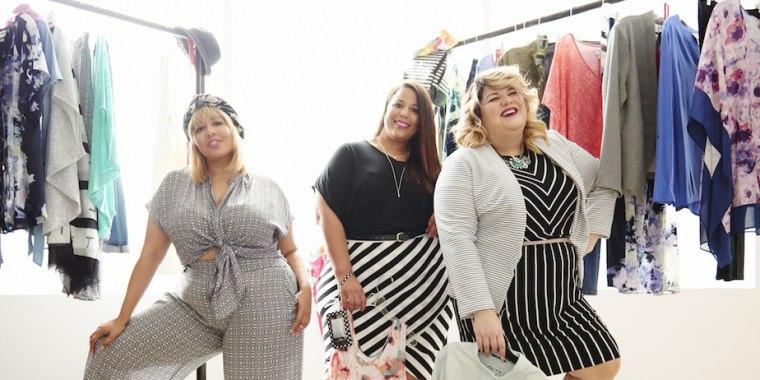Plus-size fashion bloggers Gabi Gregg, Chastity Garner and Nicolette Mason will help provide feedback on Target's new Ava & Viv line.