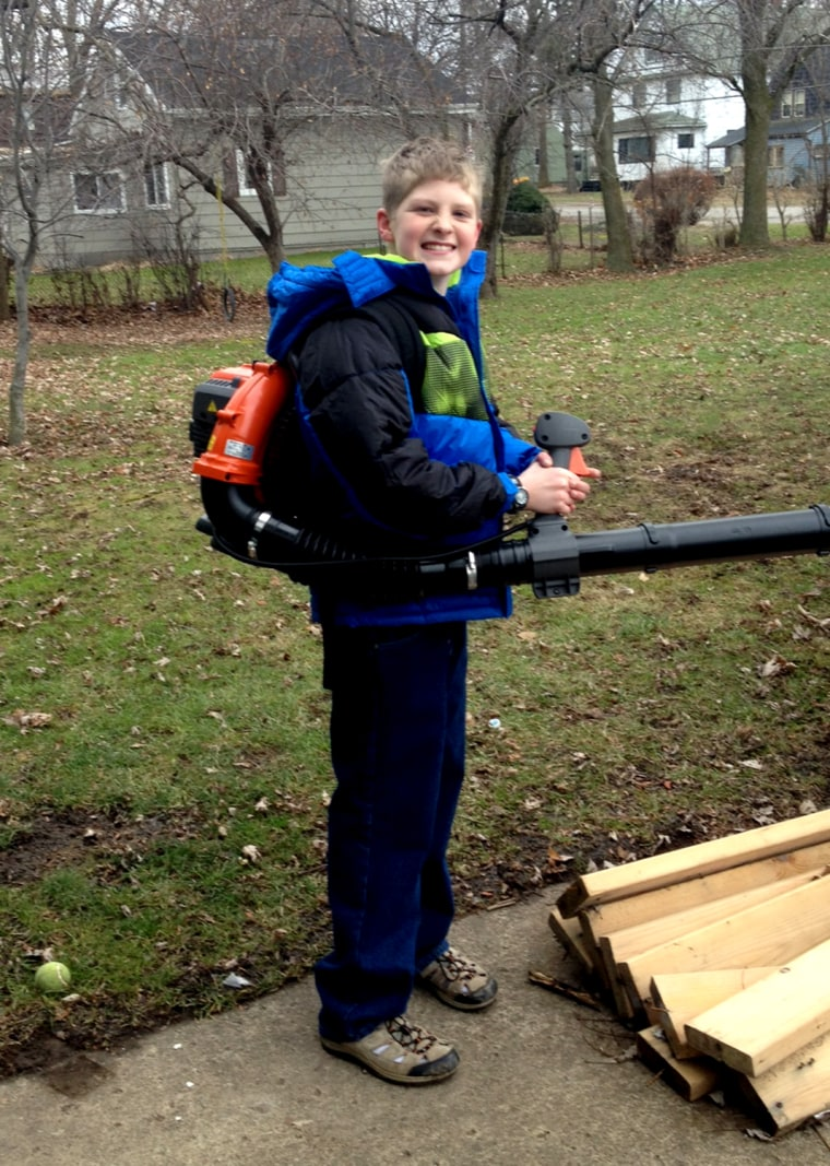 'A family just like ours': Special-needs parents relate to story about vacuum-loving boy