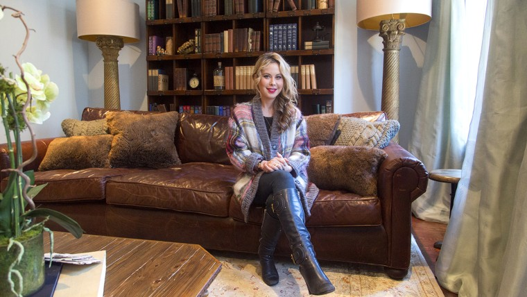 TODAY Show: Inside Tara Lipinski's West Village apartment for At Home With TODAY on January 13, 2015.