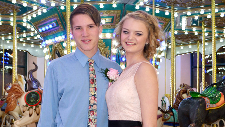 Gabi Finlayson and her date