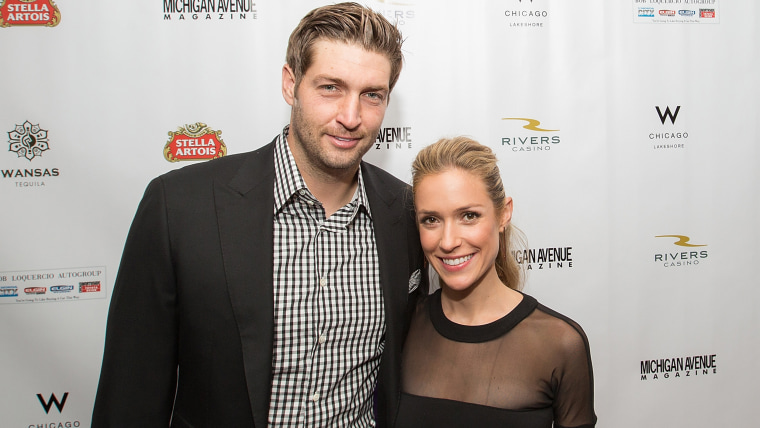 CHICAGO, IL - SEPTEMBER 09:  (L-R) Jay Cutler and Kristin Cavallari attend Michigan Avenue Magazine's Fall Fashion Issue Celebration With Kristin Cava...