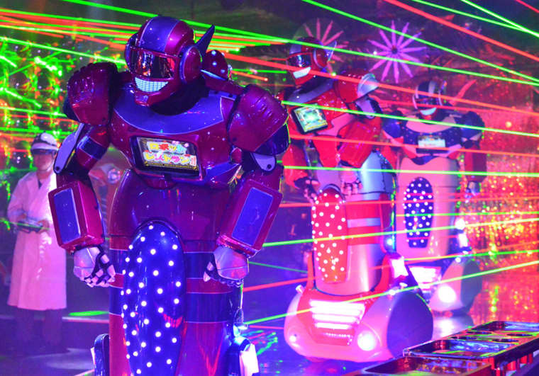 Image: The Robot Restaurant in Tokyo