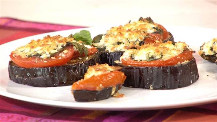 healthy eggplant parmesan