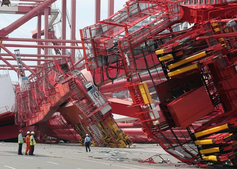 Image: Typhoon Meranti Makes Landfall in China