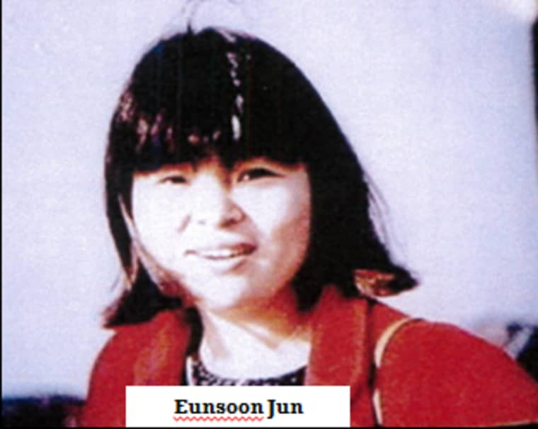 Eunsoon Jun was found murdered in 2002.