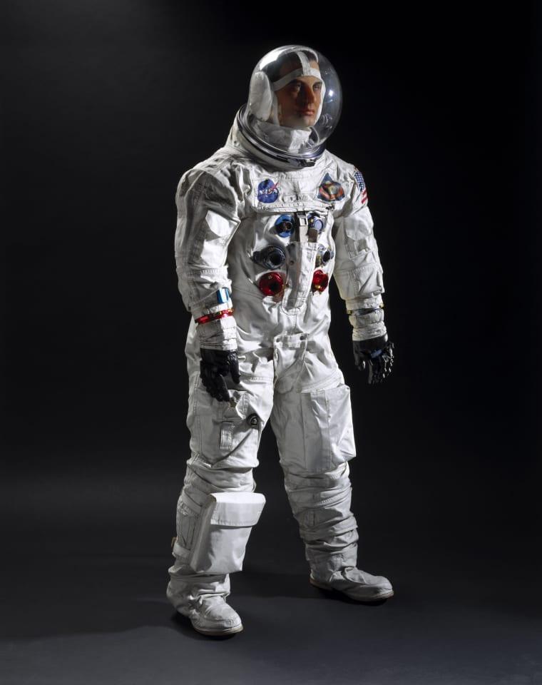 Apollo Intravehicular Activity (IVA) spacesuit, 1968.