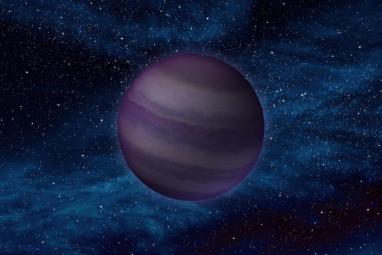 Artist rendering of Planet Nine.
