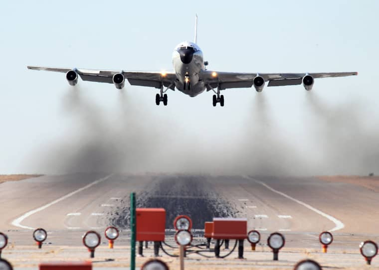 Image: The WC-135W Constant Phoenix aircraft