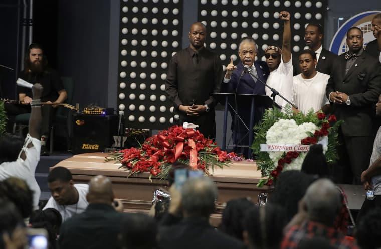 Image: Stephon Clark Funeral