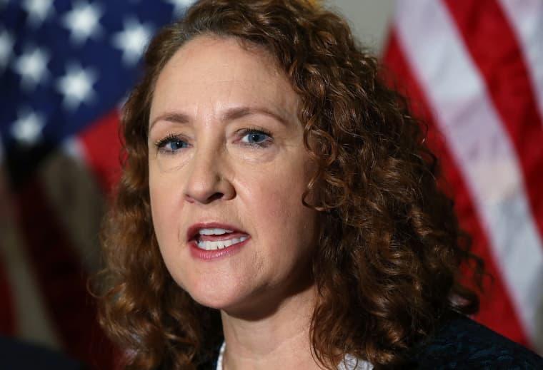 Image: Rep. Elizabeth Esty, D-Conn., speaks on Capitol Hill