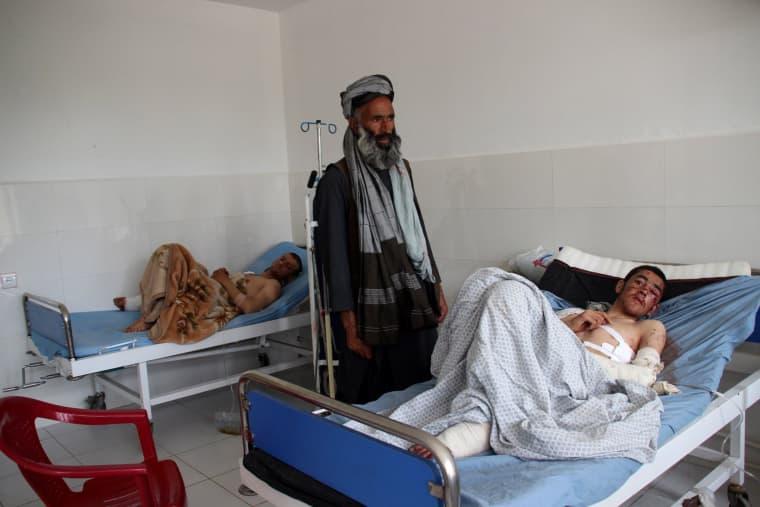 Image: Airstrikes in Kunduz