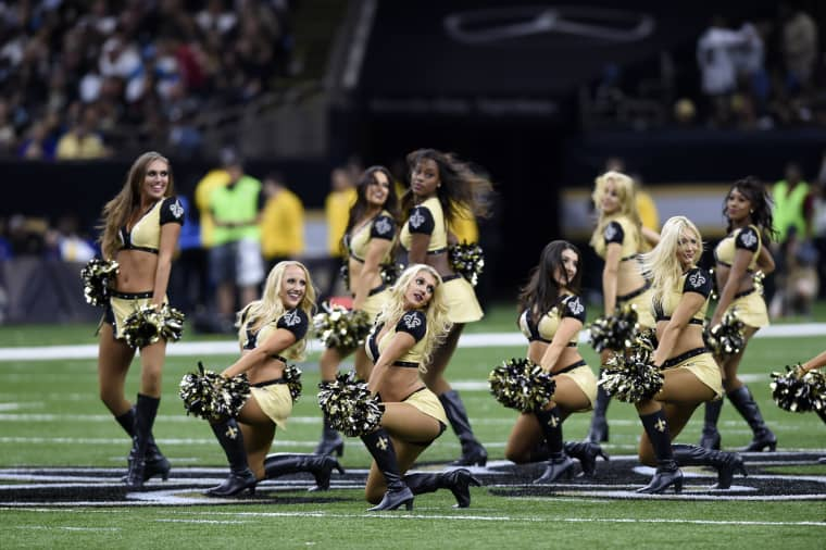 Image: New Orleans Saints Cheerleaders