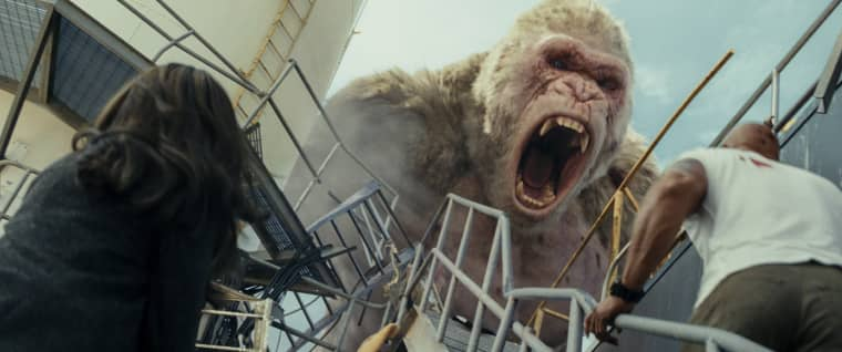 Image: A scene from 'Rampage'