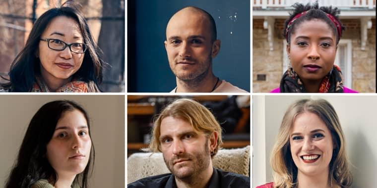 Image:  Alison Kinney, Mark Krassner, Alea Adigweme, Ayla Bussel, Daniel Boscaljon, Melanie Breault