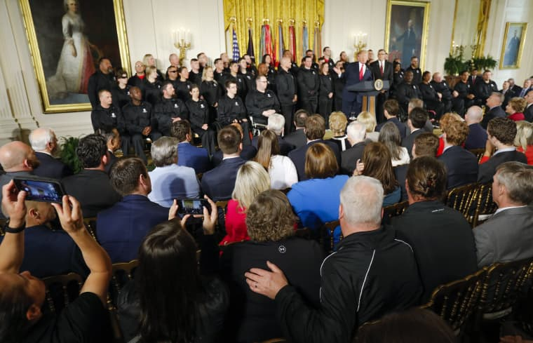 Image: President Trump at the White House in Washington, DC, USA
