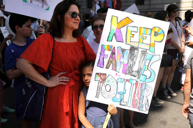 Image: Thousands Across U.S March In Support Of Keeping Immigrant Families Together