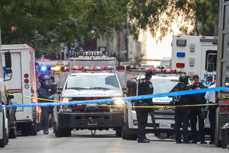 Image: Package bomb New York