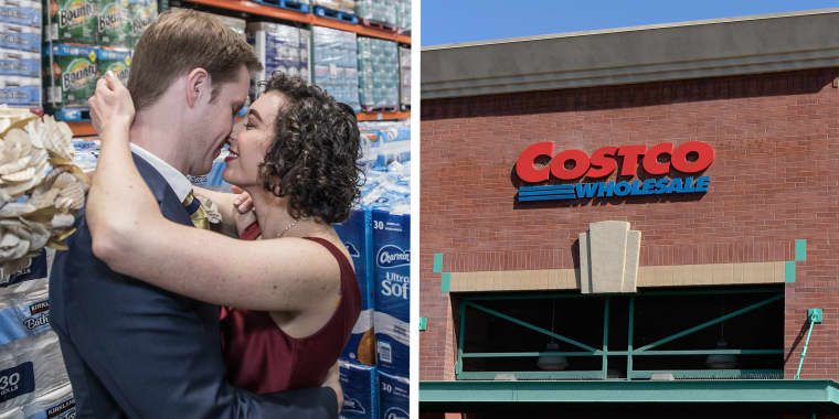 Couple gets married at Costco