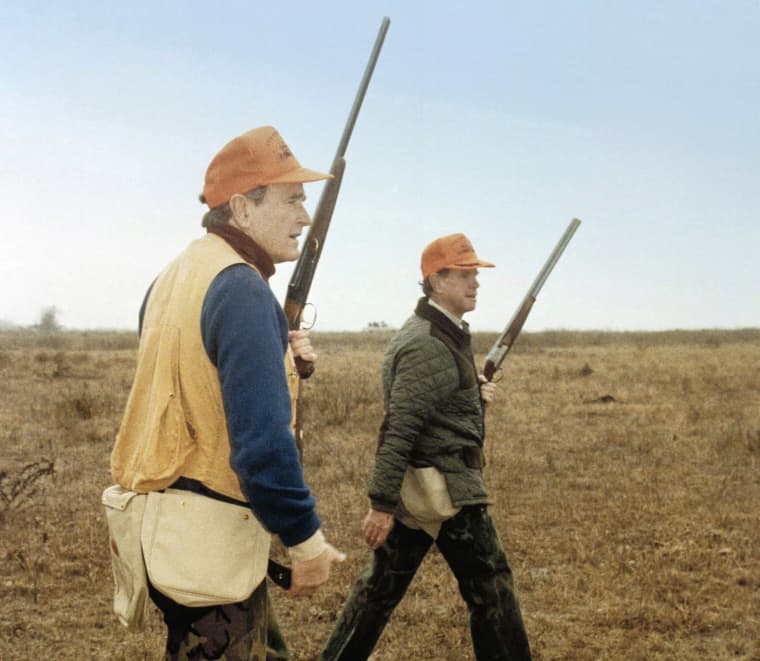 Image: George H.W. Bush Hunting