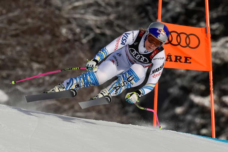 Image: Lindsey Vonn, FIS World Ski Championships - Women's Downhill