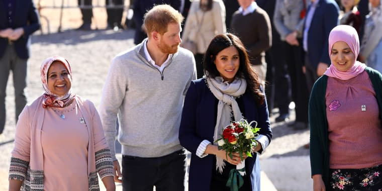 Image: The Duke And Duchess Of Sussex Visit Morocco