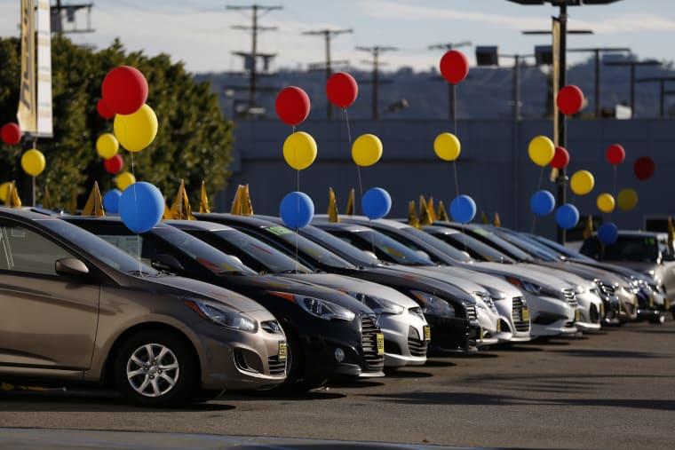 Inside Car Dealerships Ahead of Motor Vehicle Sales Figures