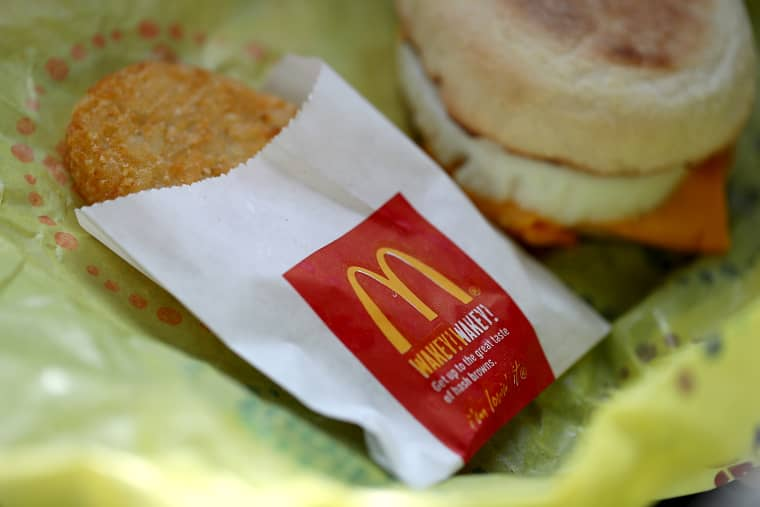 Image: A McDonald's hash brown in San Francisco on Jan. 30, 2018.